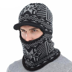 BestBuySaleMen's Winter Knitted Balaclava Cap - Black,Gray,Navy