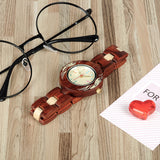 BestOnlineColorful Wooden Watches for Women + Wood Gift Box