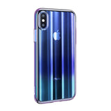 BestBuySale iPhone XS/XS Max/XR Cases iPhone Xs /Xs Max/XR  Gradient Color Cases - Black,Blue,Pink