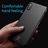 BestBuySale Cases Ultra Thin Slim Cover For iPhone X - Black,Transparent White,Transparent Black