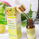 BestOnlineWater-Soluble Essential Oils for Aromatherapy - Lavender,Roses,Jasmine,Ocean,Osmanthus,Lemon,Sandalwood,Peppermint,Snow lotus,Strawberry,Lily,Green tea