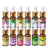 BestBuySale Essential Oils Water-Soluble Essential Oils for Aromatherapy - Lavender,Roses,Jasmine,Ocean,Osmanthus,Lemon,Sandalwood,Peppermint,Snow lotus,Strawberry,Lily,Green tea