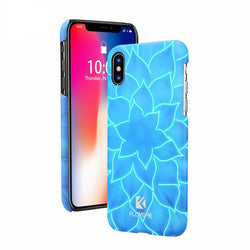 BestOnline3D Lotus Luminous Phone Case for iPhone X