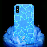 BestBuySale3D Lotus Luminous Phone Case for iPhone X