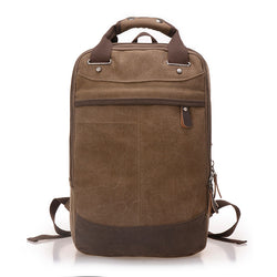 BestBuySale Backpack Men's Canvas Backpack - Blue,Sky Blue,Coffee,Khaki