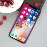 BestBuySale Cases Super Frosted Shield  Hard Back Phone Case For Apple Iphone X + Protect Film - Black,Brown,Gold,Rose Gold,Red,White
