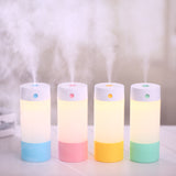 BestOnline250ML USB Car Ultrasonic Humidifier -  Yellow,Green,Blue,Pink