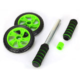 BestBuySale Ab Roller Wheel Double-wheeled Abdominal Roller Wheel - Fitness Equipment