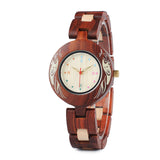 BestBuySale Wooden Watch Colorful Wooden Watches for Women + Wood Gift Box