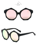 BestOnlineWomen's Round Luxury Fashion Geometric Sunglasses