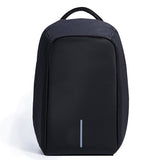 BestOnlineAnti-theft 17.3 inch Laptop Backpack With External USB Charge - Black,Gray