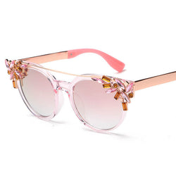 BestOnlineWomen's Fashion Summer Sunglasses With Crystal Decoration