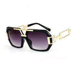 BestBuySale Women's Sunglasses Fashion Women's Retro Summer Sunglasses With Rectangle Leg