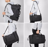 BestOnlineHigh Capacity Fashion  Men's Travel Bag - Black,Grey