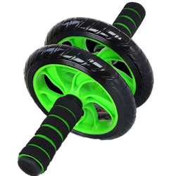 BestOnlineDouble-wheeled Abdominal Roller Wheel - Fitness Equipment