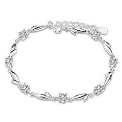 BestOnlineWomen's Bracelet with Shiny Crystal