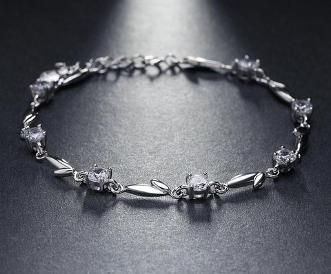 BestBuySale Bracelet Women's Bracelet with Shiny Crystal