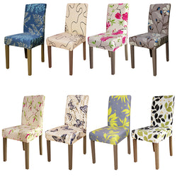 BestOnlineUniversal Size Floral Pattern Chair Covers