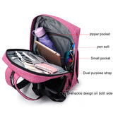 BackpackOnlineUSA Anti Theft Fashion Multifunctional Women's Pink Backpack