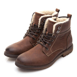 BestOnlineMen's Winter/Autumn High-Cut Fashion Motorcycle Boots