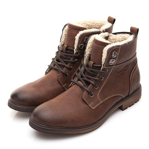 BestBuySale Men's Boots Men's Winter/Autumn High-Cut Fashion Motorcycle Boots