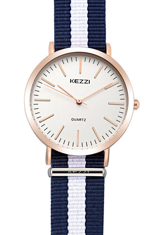 BestOnlineKEZZI Brand Women Nylon Strap Watches