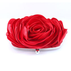 BestBuySale Clutch Bags Women's Fashion Flower Clutch Wedding Bag