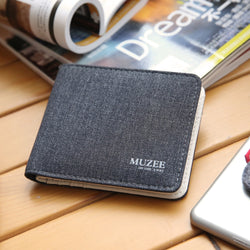 BestBuySale Wallets Fashionable Canvas Wallet For Men
