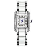 BestBuySale Watch Kimio Brand Women Quartz Watches Silver Diamond