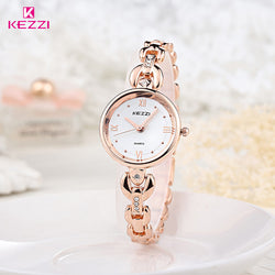 BestOnlineKEZZI Luxury Brand Watches Women Waterproof Stainless Steel