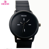 BestBuySale Watch Kezzi Brand Classic Black  White Silicone Watches Women S