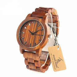 BestOnlineRed Sandalwood Watch