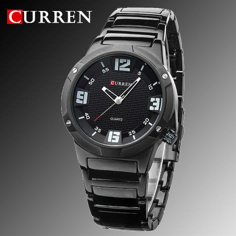BestOnlineNew curren watches men luxury brand military watch men full steel wristwatches fashion casual waterproof army sports quartz