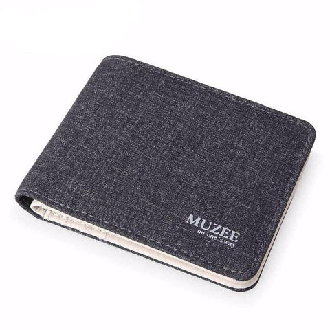 BestOnlineFashionable Canvas Wallet For Men