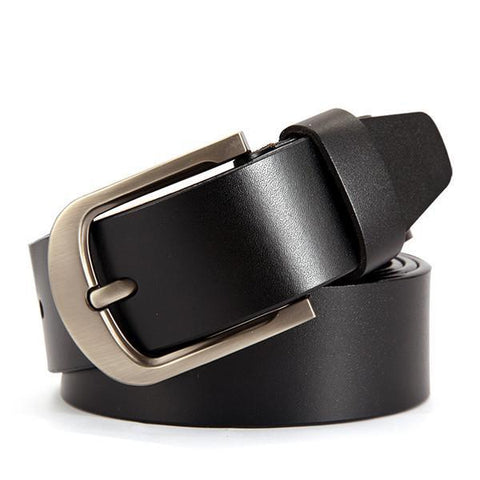 BestOnlineMen's Genuine Cowhide Leather Leather Belt Cummerbunds