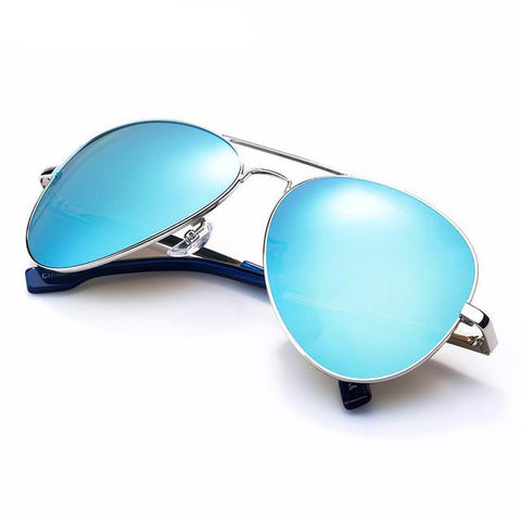 BestOnlineBLUE Fashion Metal Pilot/Aviator Sunglasses For Men Summer Trend Fashion 2017