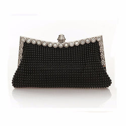 BestOnlineWomen's Evening Bag Clutch Austrian Diamond Aluminium Shinestone