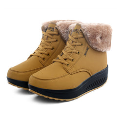 BestOnlineWinter Women's Snow Platform Boots Shoes