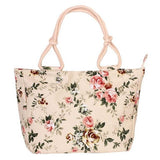 BestOnlineSummer Fashion Folding Women Tote  Flower Printing Beach Bag