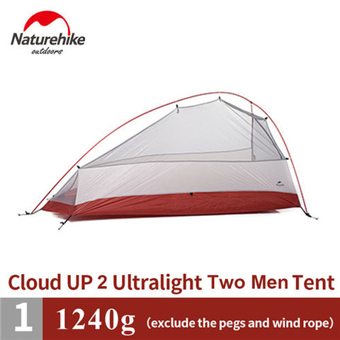 BestBuySale Tents Naturehike Tent  Silicone Fabric Ultralight With Mat