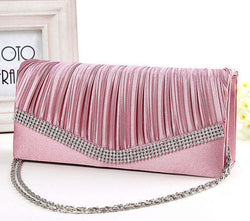 BestBuySale Clutch Bags Women's Satin Clutch Evening Bag