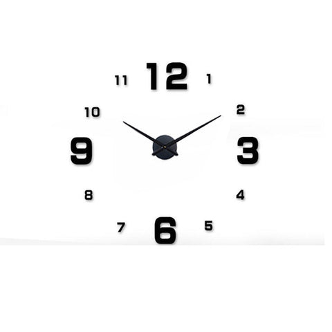 BestOnlineDIY Modern Wall Clock Design-Black,Red,Blue,Pink,Silver,Gold,Multi,Chocolate,Gray