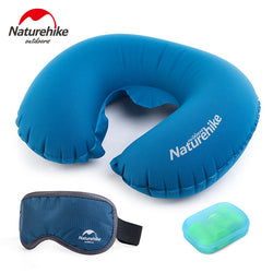 BestOnlineInflatable Travel +Eye Blindfolds + Earplug  3 PCS