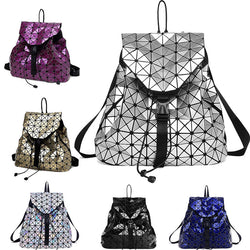 BestOnlineHS RHYME Women Diamond Geometric  Backpack