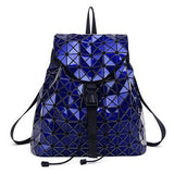 BestBuySaleHS RHYME Women Diamond Geometric  Backpack