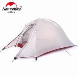 BestOnlineNaturehike  Ultralight Hiking Tent 20D/210T Fabric  For 1 Person With Mat