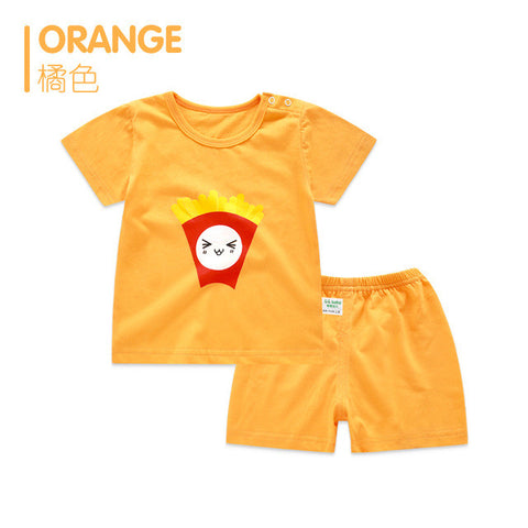 BestOnlineBaby Girl/Boys Summer Sets Newborn Clothes Set 2pcs/set - Dad & Mom