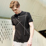 BestOnlinePioneer Camp Regular Black Polo Shirts
