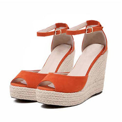 BestBuySale Sandals Comfortable Wedge High Platform Open Toe Women Sandals