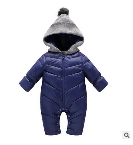 BestBuySale Rompers Baby Boy & Girl winter Clothing Rompers Hooded